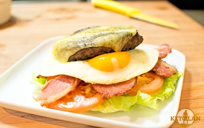 The Keto Clan Bunless Burger