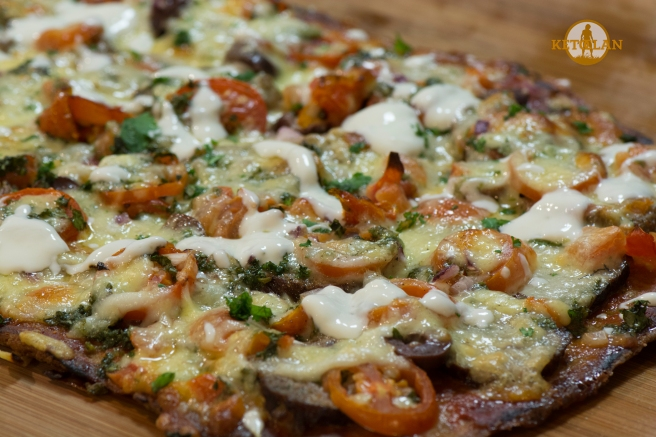 KetoClan Low Carb Lamb Kofta Pizza