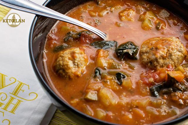 The Keto Clan's (Turkey Meatball Soup) | the Keto Clan Blog